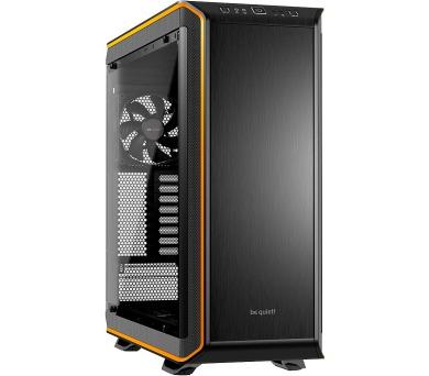 Be quiet! skříň DARK BASE PRO 900 / BigT/ bez zdroje / 2x USB2.0 + 2x USB3.0 / průhledná bočnice / oranžová (BGW10) + DOPRAVA ZDARMA