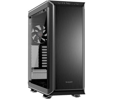 Be quiet! skříň DARK BASE PRO 900 / BigT/ bez zdroje / 2x USB2.0 + 2x USB3.0 / průhledná bočnice / stříbrná (BGW12) + DOPRAVA ZDARMA