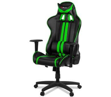 AROZZI herní židle MEZZO/ černozelená