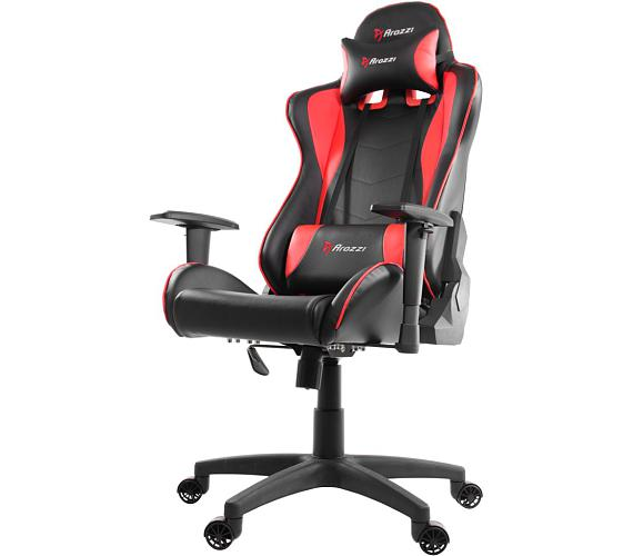 AROZZI herní židle MEZZO/ černočervená