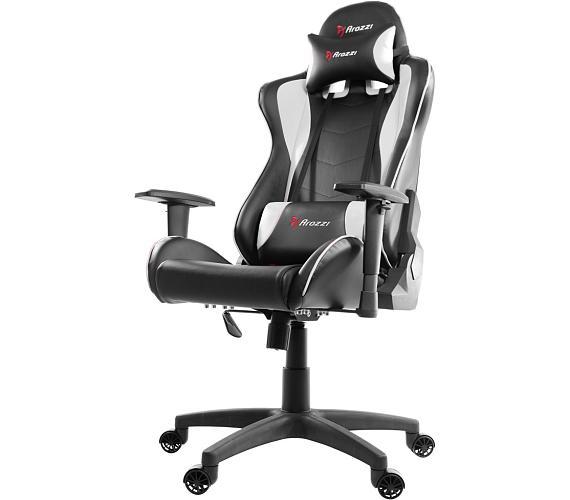 AROZZI herní židle MEZZO/ černobílá (MEZZO-WT)