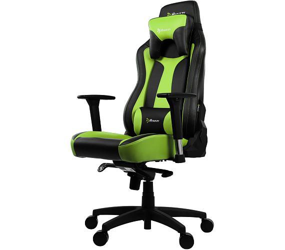 AROZZI herní židle VERNAZZA/ černozelená (VERNAZZA-GN)