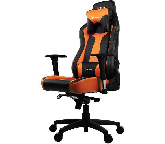 AROZZI herní židle VERNAZZA/ černooranžová (VERNAZZA-OR)