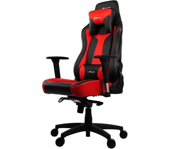 AROZZI herní židle VERNAZZA/ černočervená (VERNAZZA-RD)