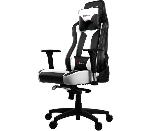 AROZZI herní židle VERNAZZA/ černobílá (VERNAZZA-WT)