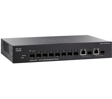 Cisco SG300-10SFP switch 8xSFP + 2xGE/SFP
