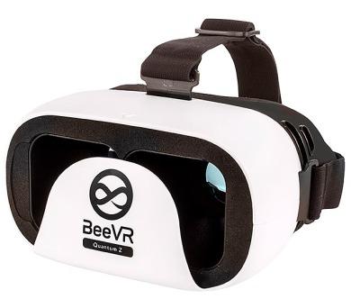 """BeeVR Quantum Z brýle pro virtuální realitu pro telefony od 4,7"""" do 6"""" / bílé"""
