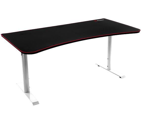 AROZZI herní stůl ARENA Gaming Desk/ černobílý (ARENA-WHITE)