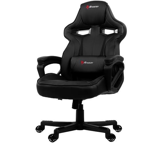 AROZZI herní židle MILANO/ černá (MILANO-BK)