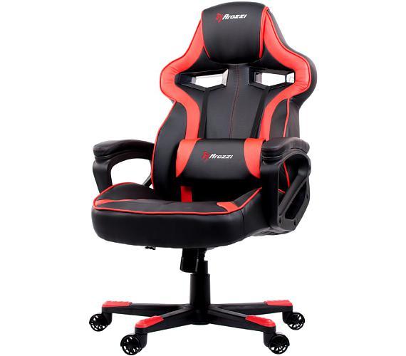 AROZZI herní židle MILANO/ černočervená (MILANO-RD)