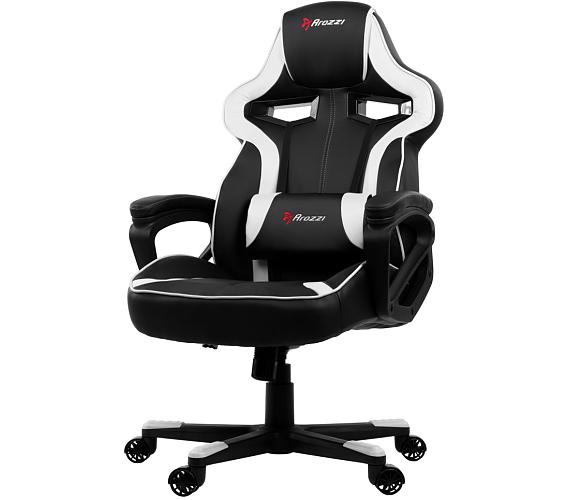 AROZZI herní židle MILANO/ černobílá (MILANO-WT)