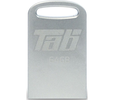 PATRIOT Supersonic Tab 64GB Flash disk / USB 3.0 / Stříbrný kov (PSF64GTAB3USB)