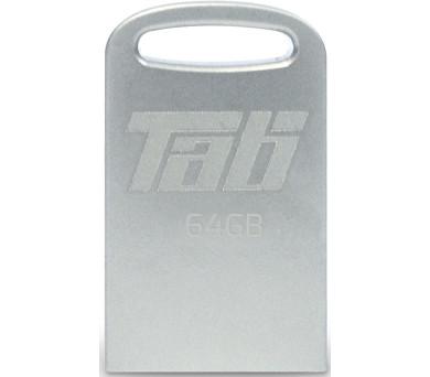 PATRIOT Supersonic Tab 64GB Flash disk / USB 3.0 / Stříbrný kov