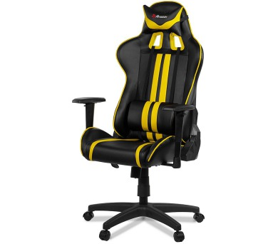AROZZI herní židle MEZZO/ černožlutá (MEZZO-YL)