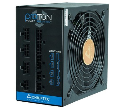 CHIEFTEC zdroj BDF-850C / Proton Series / 850W / 140mm fan / akt. PFC / modulární kabeláž / 80PLUS Bronze + DOPRAVA ZDARMA