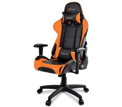 AROZZI herní židle VERONA V2/ černooranžová