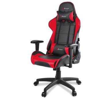 AROZZI herní židle VERONA V2/ černočervená (VERONA-V2-RD)
