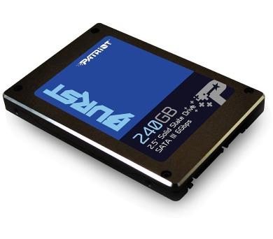 "PATRIOT BURST 240GB SSD / Interní / 2,5"" / SATA 6Gb/s / (PBU240GS25SSDR)"