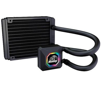 AKASA vodní chladič CPU Venom R10 RGB / Intel LGA 775 + DOPRAVA ZDARMA