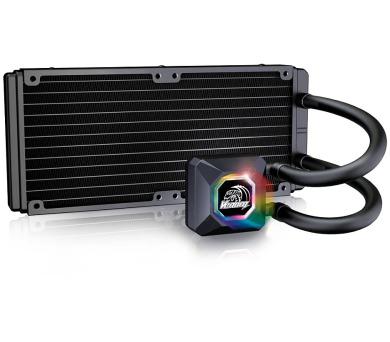 AKASA vodní chladič CPU Venom R20 RGB / Intel LGA 775 + DOPRAVA ZDARMA