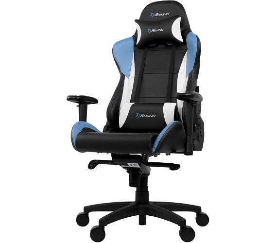 AROZZI herní židle VERONA PRO V2/ černomodrá (VERONA-PRO-V2-BL)