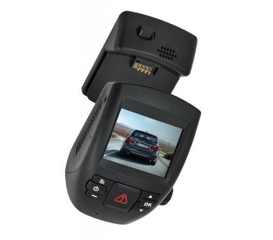 """CEL-TEC digitální kamera do auta CD30X GPS/ 2304x1296/ 2"""" LCD/ GPS/ G-senzor/ mikrofon/ černá"""
