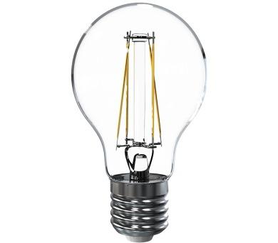 Tesla LED žárovka FILAMENT RETRO BULB / E27/ 6,5W/ 230V/ 835lm/ 2700K/ teplá bílá/ čirá (BL276527-3)
