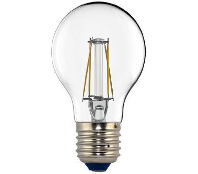 TESLA LED žárovka CRYSTAL RETRO BULB/ E27/ 4W/ 230V/ 440lm/ 2700K/ teplá bílá/ čirá (BL270427