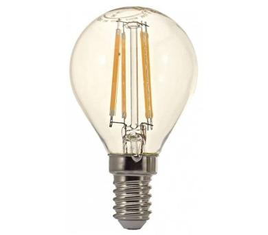 TESLA LED žárovka CRYSTAL RETRO mini BULB/ E14/ 4W/ 230V/ 470lm/ 2700K/ teplá bílá
