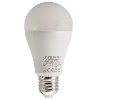 TESLA LED žárovka BULB/ E27/ 13W/ 230V/ 1521lm/ 3000K/ teplá bílá