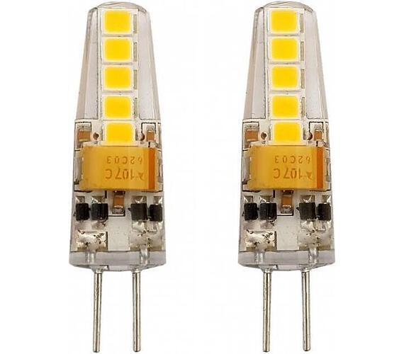 TESLA LED žárovka/ G4/ 2W/ 12V DC/ 200lm/ 3000K/ teplá bílá (2pack) (G4000230-5PACK)