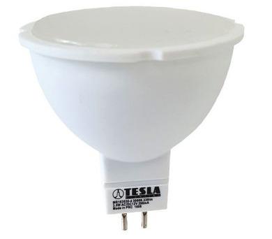 TESLA LED žárovka/ GU5,3/ MR16/ 3,5W/ 12V/ 230lm/ 3000K/ teplá bílá