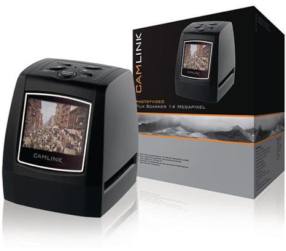 Camlink CL-FS30 - Filmový Skener 14 MPixel LCD