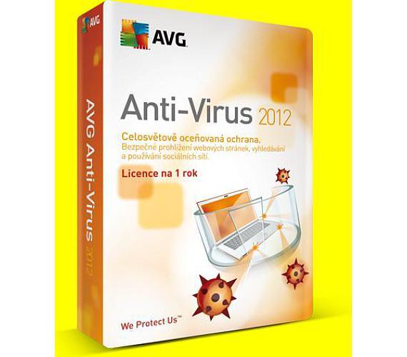 AVG Internet Security 1 lic. (12 měs.) SN Email (ISCEN12EXXS001) + DOPRAVA ZDARMA
