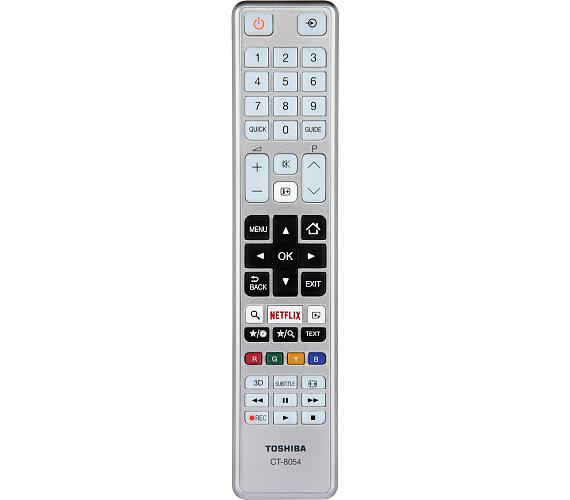 Toshiba CT8054 SMART TV,stříbrný