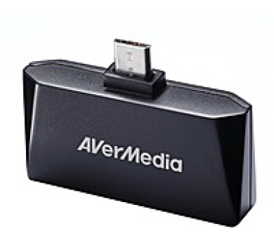 AVERMEDIA TV tuner AVerTV Mobile 510 Android-T2/ Externí/ Pro Tablety a Telefony/ Micro USB/ DVB-T/ Anténa (61EW5100A0AD)