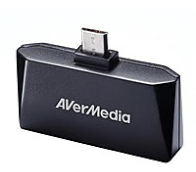 AVERMEDIA TV tuner AVerTV Mobile 510 Android-T2/ Externí/ Pro Tablety a Telefony/ Micro USB/ DVB-T/ Anténa