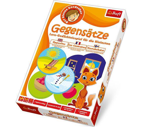 Malý objevitel Protiklady společenská hra v krabici 19x29x4cm