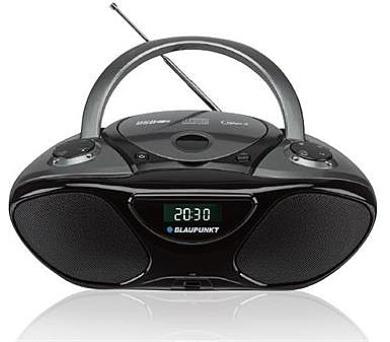 BLAUPUNKT BB14BK FM PLL CD/MP3/USB/AUX černý + DOPRAVA ZDARMA
