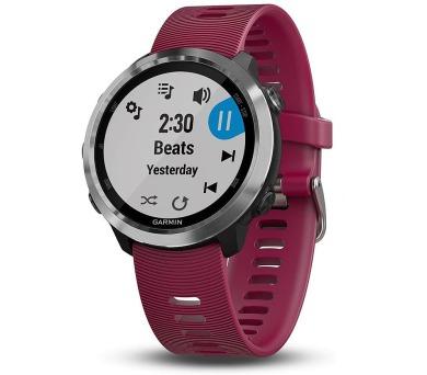 GARMIN GPS sportovní hodinky Forerunner 645 Optic Music červené (010-01863-31)