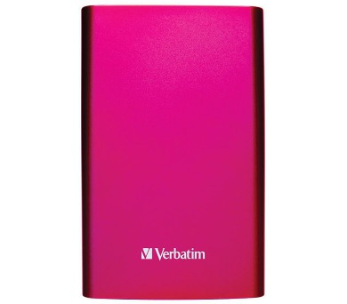 """VERBATIM HDD/ Store 'n' Go/ 1TB/ Externí 2,5""""/ USB 3.0/ jasně růžový"""
