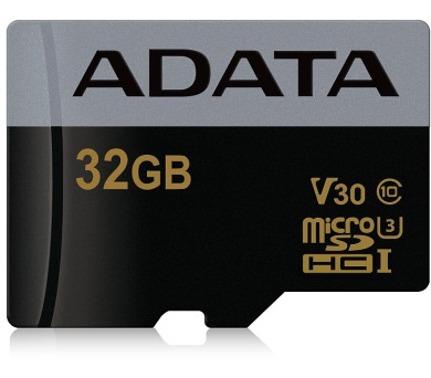 ADATA Premier Pro 32GB microSDHC / UHS-I I3 V30 CLASS10 / bez adaptéru
