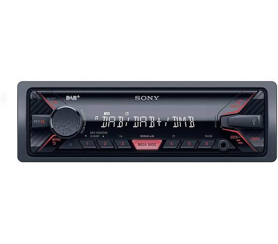 Sony autorádio DSX-A300DKITEI DAB/Iphone (DSXA300DKITEI.EU)
