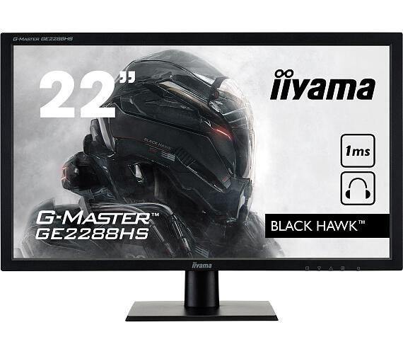 iiyama G-Master GE2288HS-B1 - 1ms,250cd,12M:1,DVI,HDMI,FHD,repro,FreeSync