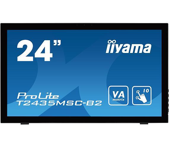 iiyama T2435MSC-B2 - 6ms,250cd/m2,DVI,HDMI + DOPRAVA ZDARMA