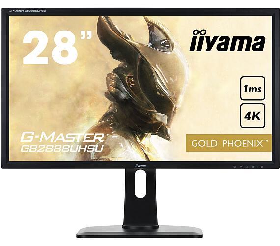 iiyama G-Master GB2888UHSU-B1 - 1ms + DOPRAVA ZDARMA