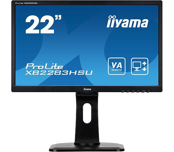 iiyama XB2283HSU-B1DP -5ms + DOPRAVA ZDARMA
