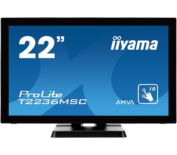 iiyama T2236MSC-B2 - multidotekový + DOPRAVA ZDARMA