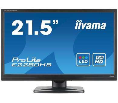 iiyama E2280HS-B1 - 5ms