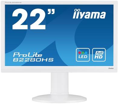 iiyama B2280HS-W1 - FullHD,5ms,250cd/m2
